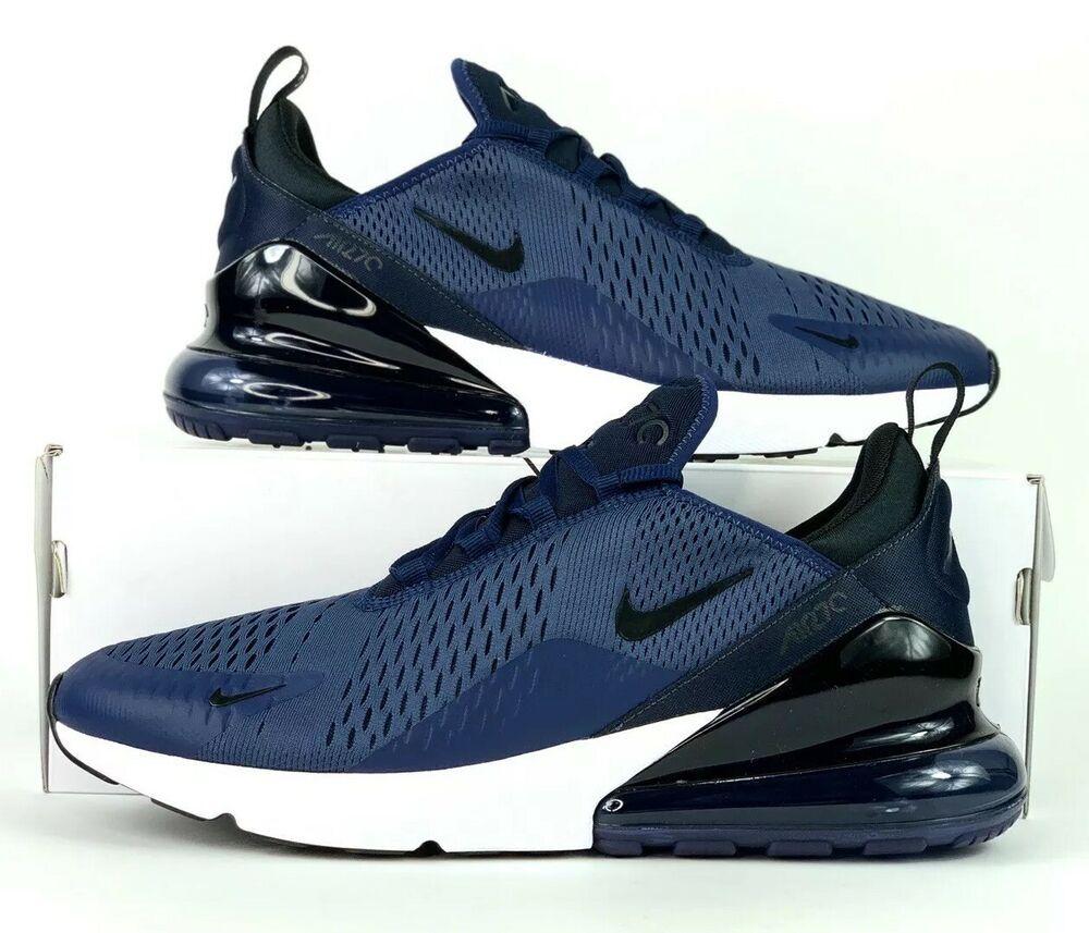 eBay Sponsored) Nike Air Max 270 Running Shoes Midnight Navy