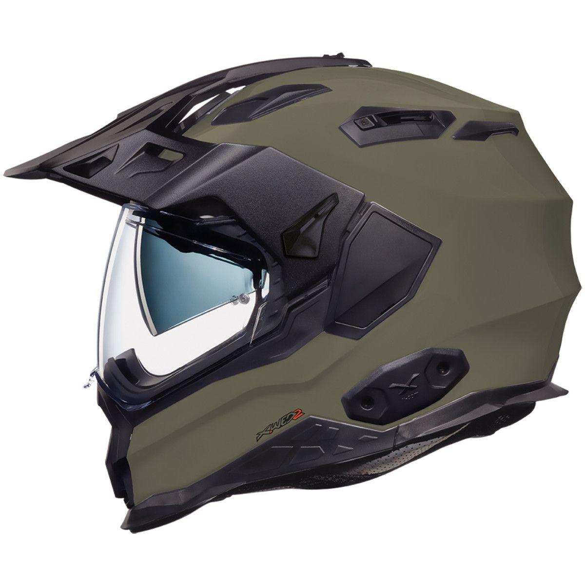 Nexx X.WED 2 Plain Helmet in Khaki The all new X.WED 2