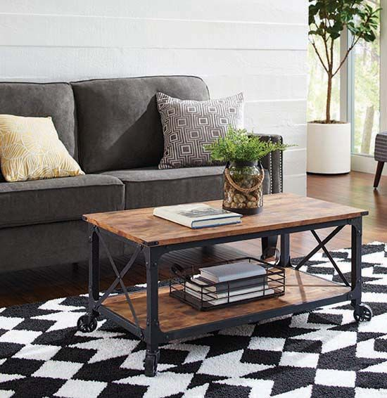 Better Homes And Gardens Rustic Country Coffee Table Coffee