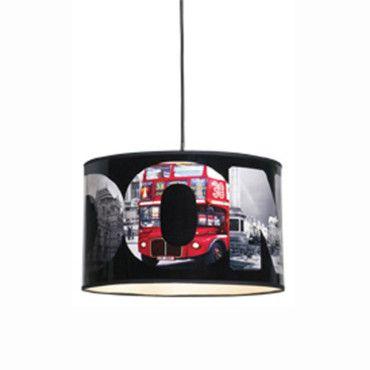 Chambre d\'ado : coussin, tapis et lampe style London pour ...