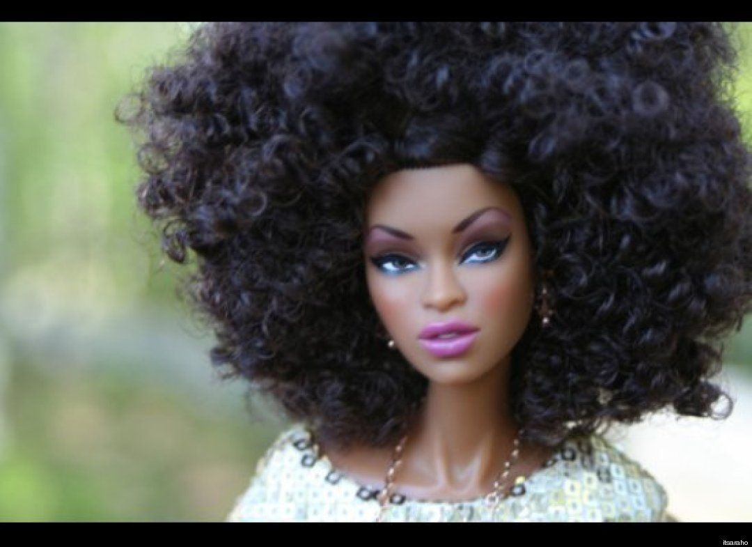 Natural Hair Group In Georgia Gives Black Barbie Dolls A Natural Hair Makeover