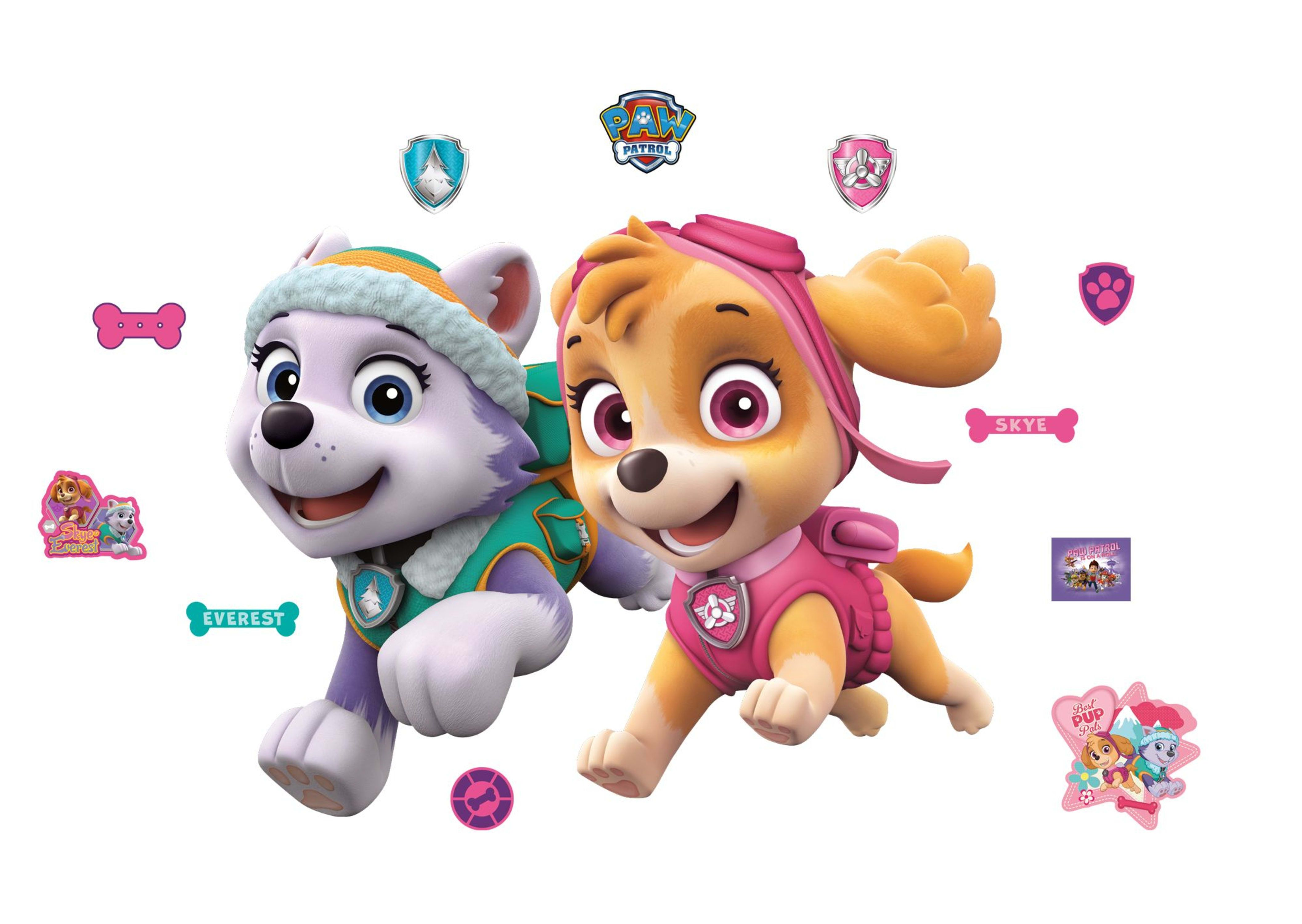 PAW Patrol: Girl Pups - Giant Officially Licensed PAW ...