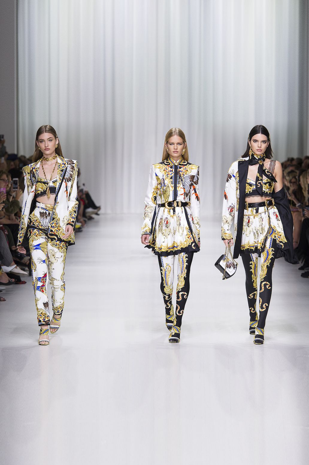 Versace Fashion Week Milan Printemps-Été 2018