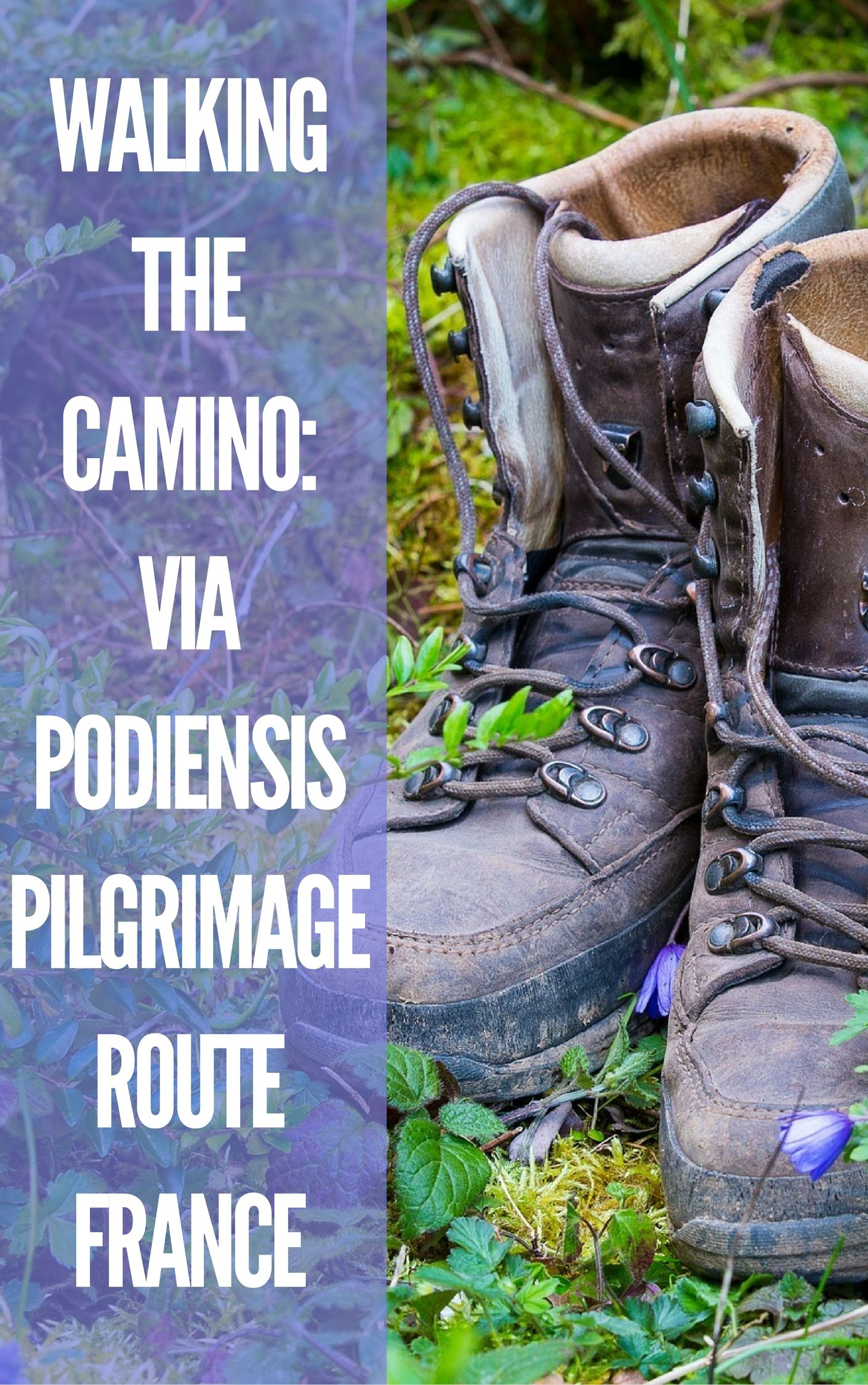 When planning to walk the Camino, the obvious choice for most travelers is the Camino de Santiago, or Way of St James.  But for those looking for a quieter, more rural, less trodden Camino experience, the Via Podiensis is a pilgrimage which winds through France. Click pin through to post for more info.
