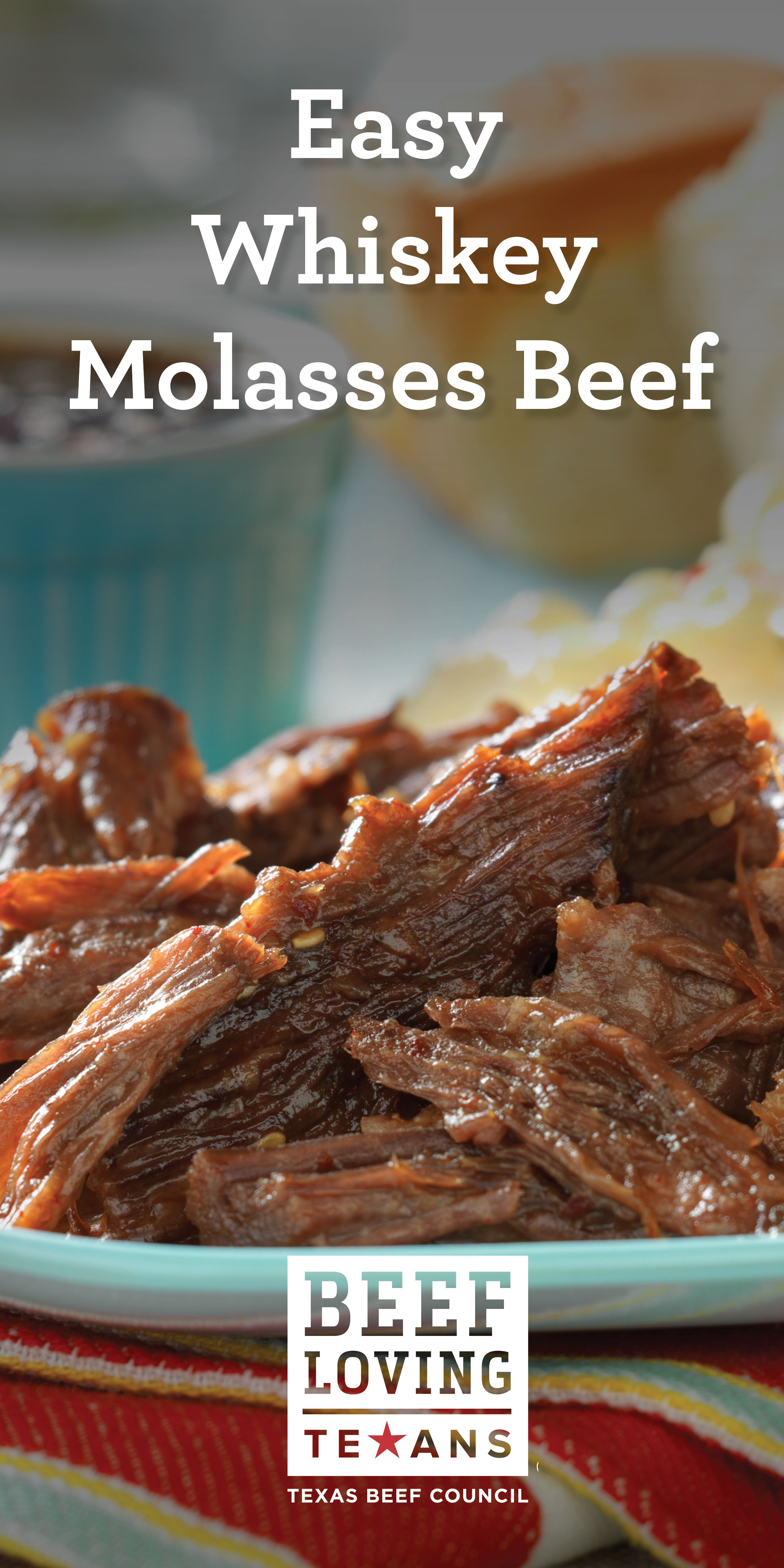 Slow Cooked Whiskey Molasses Shredded Beef Recipe Slow Cooker Recipes Beef Recipes Beef Recipes
