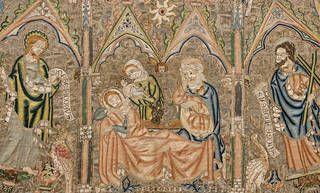 The Toledo Cope (detail), 1320 – 30, England. © Toledo, Tesoro de la Catedral, Museo de Tapices y Textiles de la Catedral