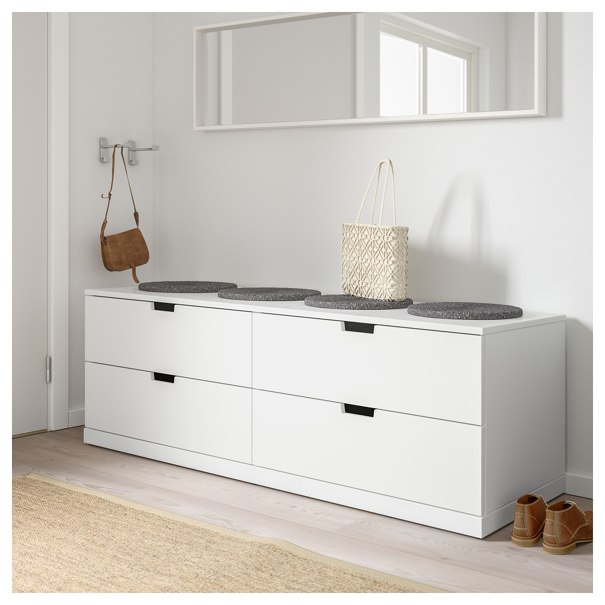 Hängegarderobe Ikea Ikea Nordli 4 Drawer Dresser White In 2019 For The Home 4