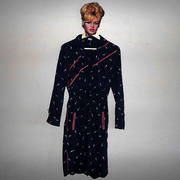 Totally Bowie style!!    Vestido raios 70 - Moda de Brechó