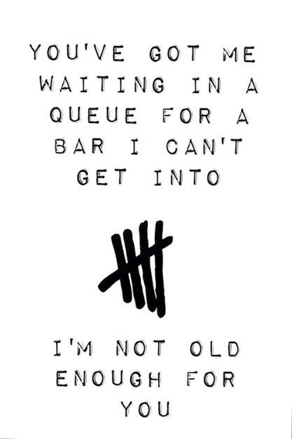 You Ve Got Me Waiting In A Queue For A Bar I Can T Get Into I M