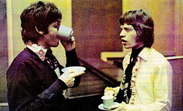 McCartney and Jagger, London.   londonmusicalhistory.wordpress.com/