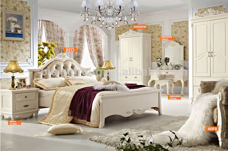 luxury kids bedrooms design french style wooden bedroom furniture bf07 70186