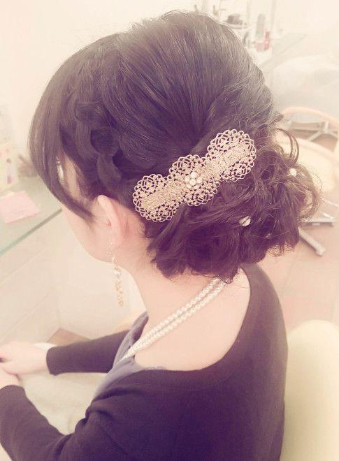 編み込み下目クラシカルアレンジ【hair coucou】  http://www.beauty-navi.com/style/detail/59456?pint  ≪#arrange #hairstyle #アレンジ #ヘアスタイル #髪形 #髪型 #date #paty #wedding #cute #special #casual #yukata #kimono #makeup #オシャレ #浴衣 #着物 #結婚式 #デート #パーティー #おでかけ #トクベツ≫