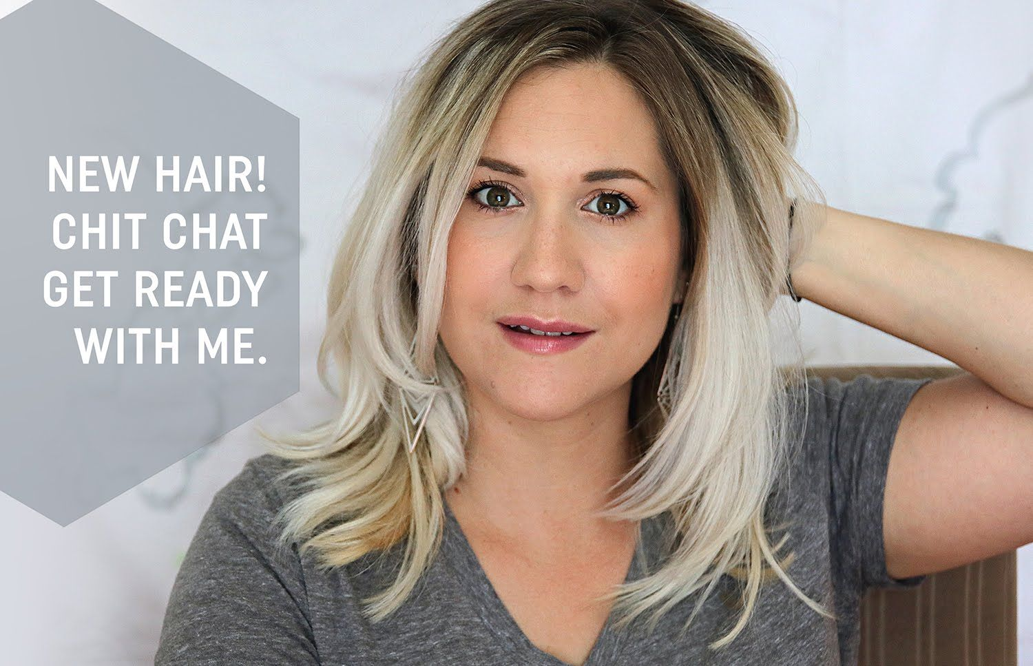 New Hair! Chit Chat | Get Ready With Me #blondehair