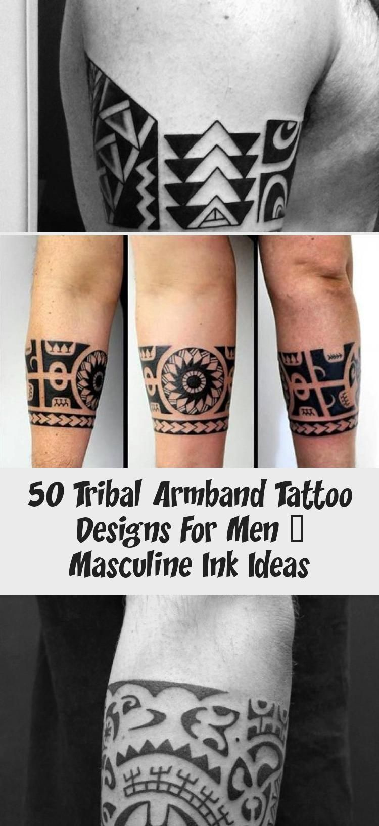 50 Tribal Armband Tattoo Designs For Men Masculine Ink Ideas Tattoos And Body Art In 2020 Tribal Armband Tattoo Tribal Armband Armband Tattoo Design