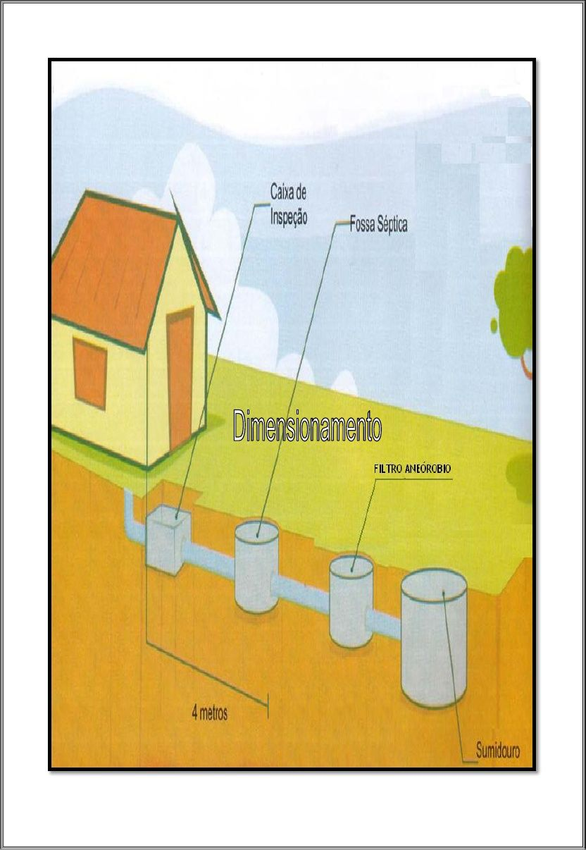 Dimensionamento Pergolato In Legno dimensionamento do fossa septica (com imagens) | fossa