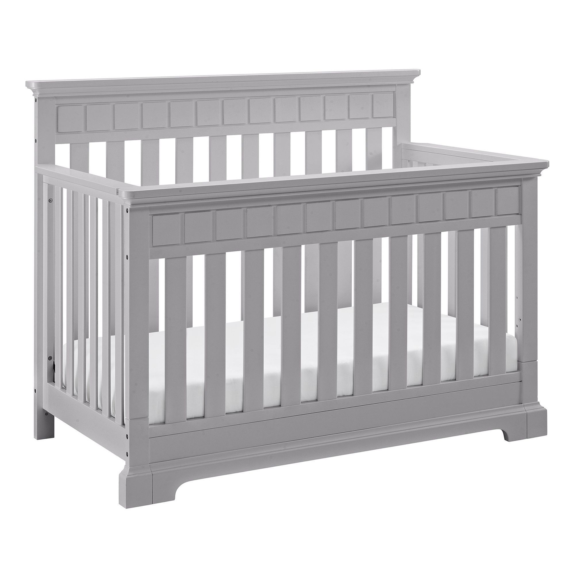 Thomasville Kids Willow 4 In 1 Convertible Crib, Grey