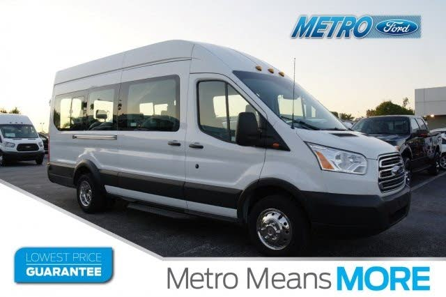 2019 Ford Transit Passenger 350 Hd Xlt Extended High Roof Lwb Drw Rwd With Sliding Passenger Side Door 41 585 Ford Transit Used Vans Van
