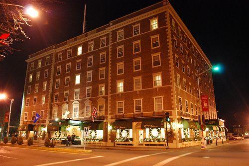 Hawthorne Hotel M Ma Haunted