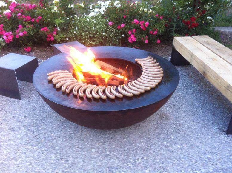 Feuerring Grilliere U2013 Tschannen Gartenbau Murzelen B. Bern