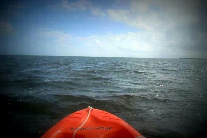 Ocean kayaking in key west, fl