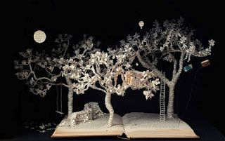 Unbelievable Art........Paintings, Graphics, Sculpture and Craft: BOOK SCULPTURES OF SU BLACKWELL