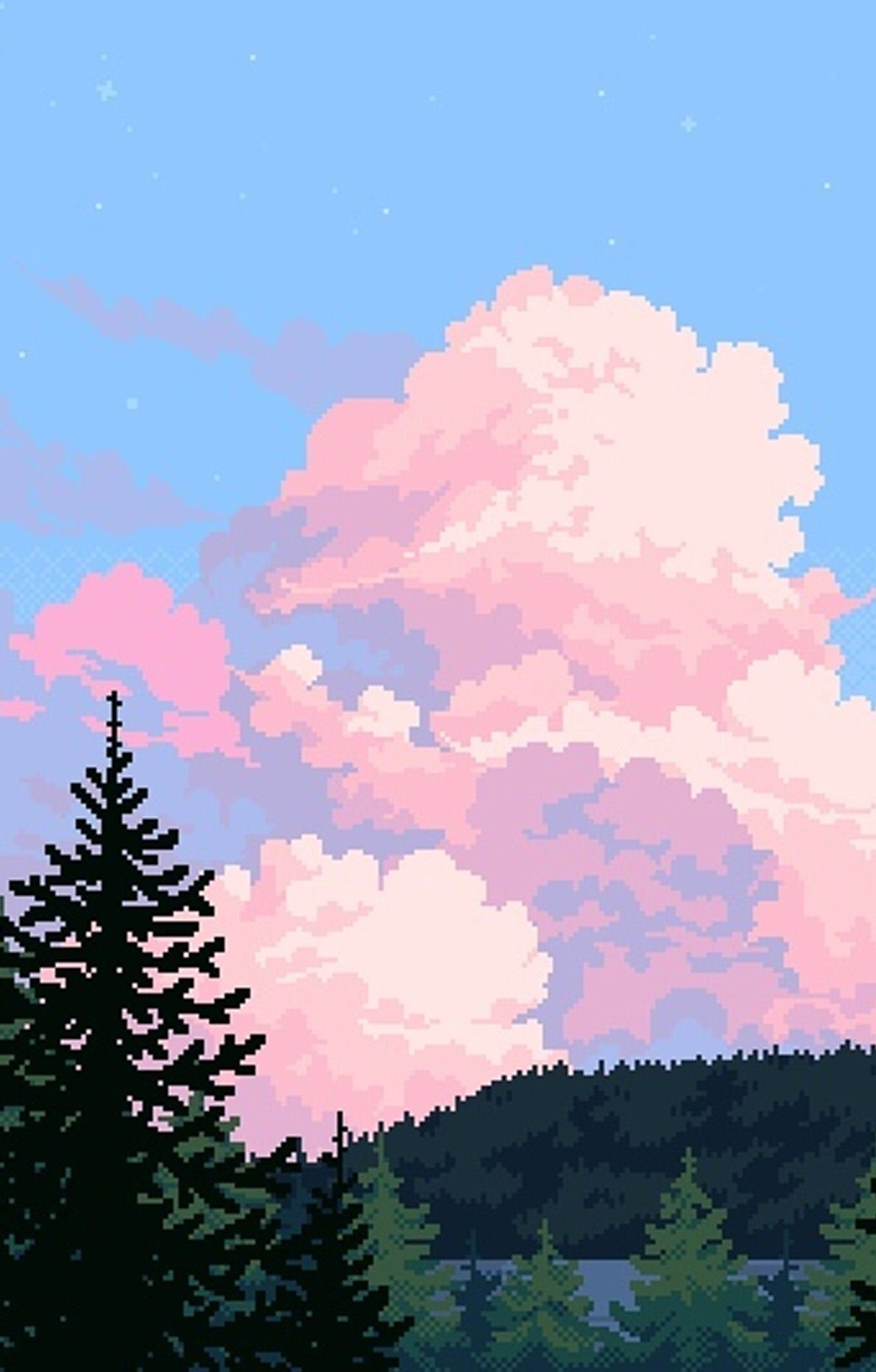Pin By Ran Kim On A R T Pixel Art Background Art Background Aesthetic Wallpapers