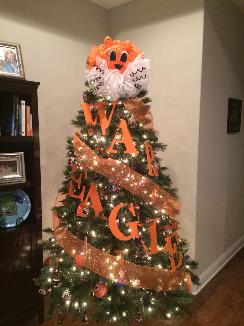 My Auburn Christmas Tree   WaR EaGLe   Pinterest   Auburn, Christmas ...