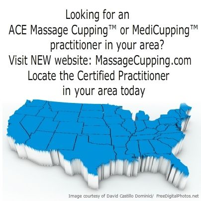 If you need to find an ACE Massage Cupping™ or MediCupping ...
