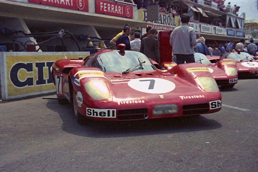 Ferrari 512S Fly 7 24 heures du Mans 1970 Le mans