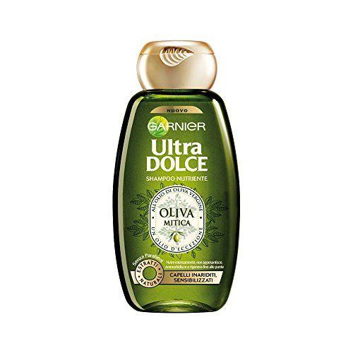 Introducing Garnier Ultra Dolce Super Sweet Nourishing Shampoo With Virgin Olive Oil 845 Fluid Ounce 250ml Packag Shampoo Olive Oil Shampoo Nourishing Shampoo