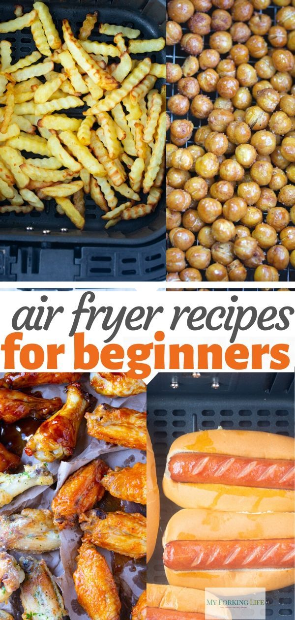 7 Easy Air Fryer Recipes for Beginners
