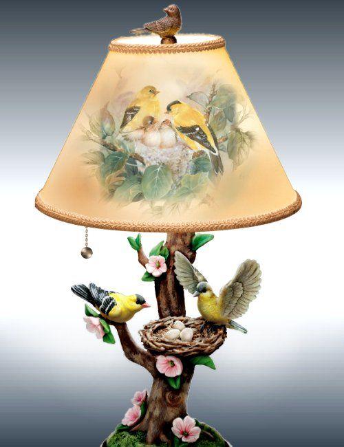 Nature S Poetry Tabletop Lamp Luzes De Decoracao Abajur Antigo