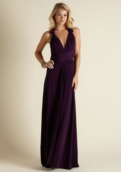 ba2b1e2d202 way awesome convertible dress for husband s 10 yr hs reunion  yes. Purple  Bridesmaid Dresses