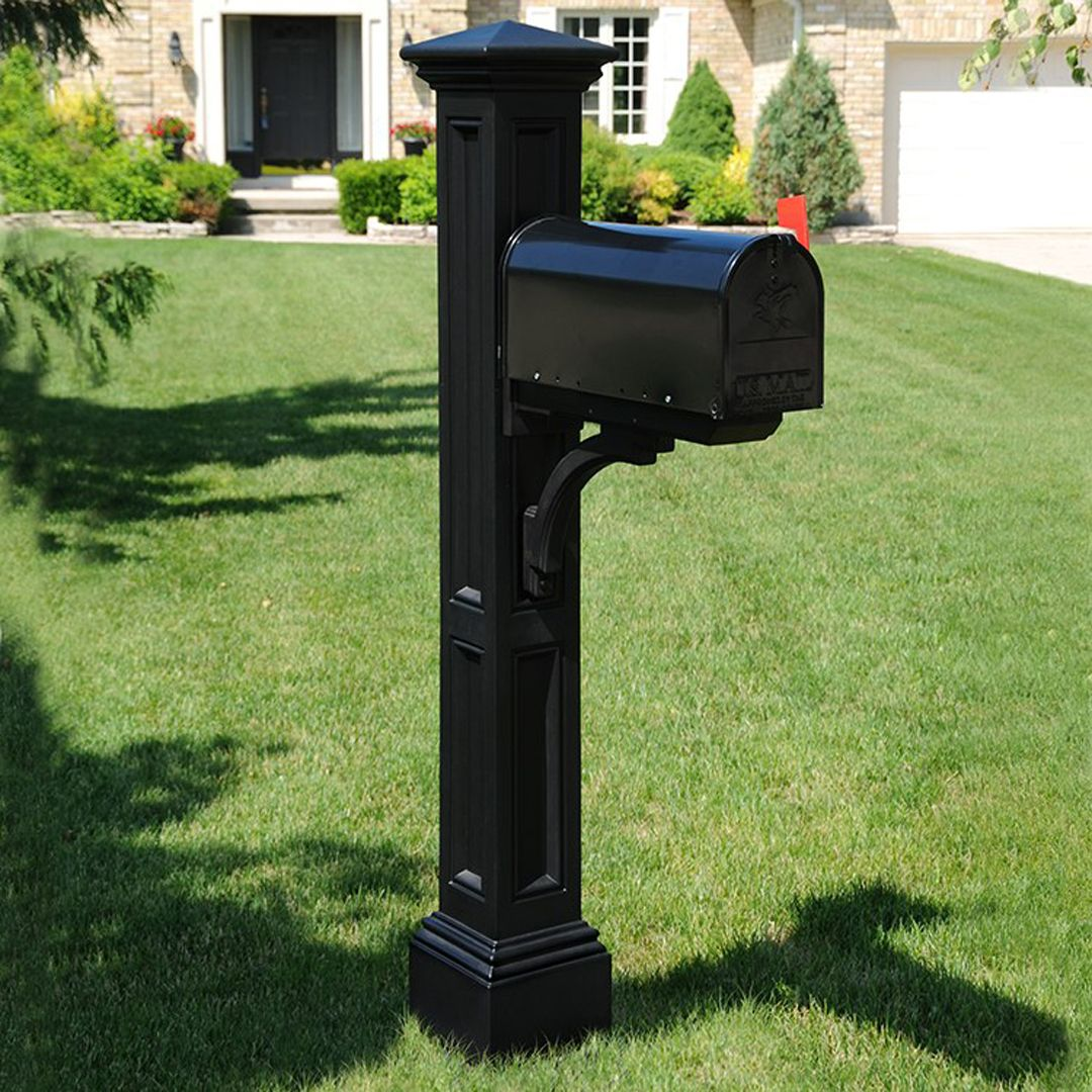 Charleston Mail Post In 2020 Mailbox Makeover Mailbox Post Diy Mailbox