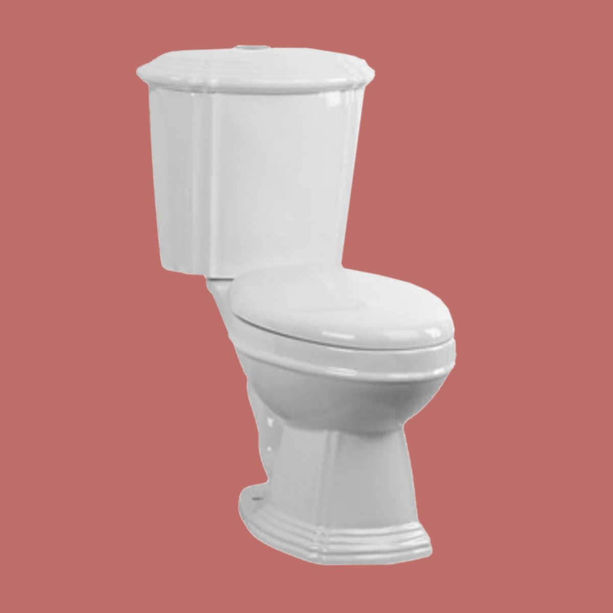White Sheffield Round Dual Top Flush Toilet Measures 31 3 4 Inch Height X 25 1 2 Inch Projection Toilet Dual Flush Toilet Flush