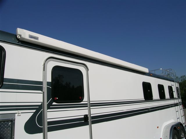 awnings | Awning, Horses, Trailer
