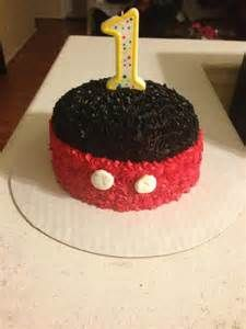 Mickey Mouse Cake Ideas Mickey Mouse First Birthday Mickey 1st Birthdays Mickey Mouse 1st Birthday