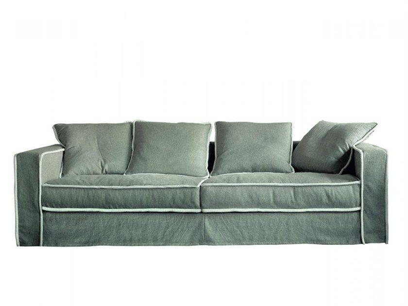 Fabric Sofa With Removable Cover Pillopipe Sofa By Casamilano Sofa Fabric Sofa Paola Navone