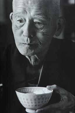 Japanese actor, RYU Chishu (1904-1993) 笠智衆