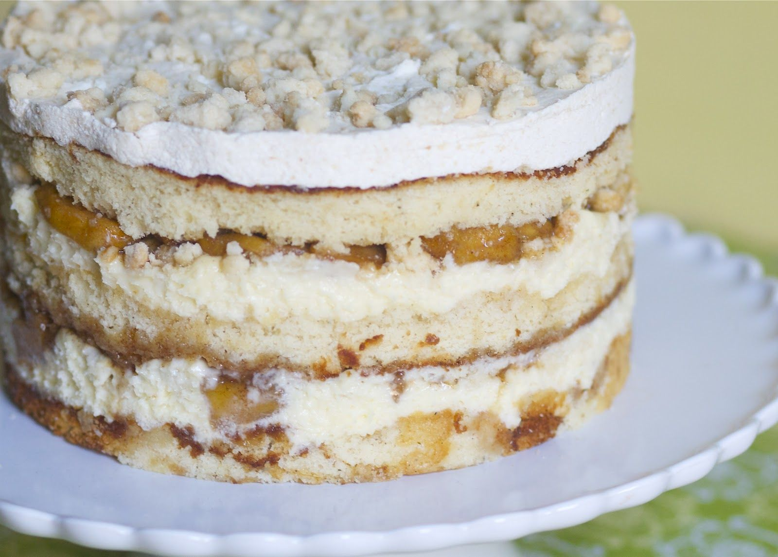 Apple Pie Layer Cake From Milk Bar The Baker Chick Bakery In