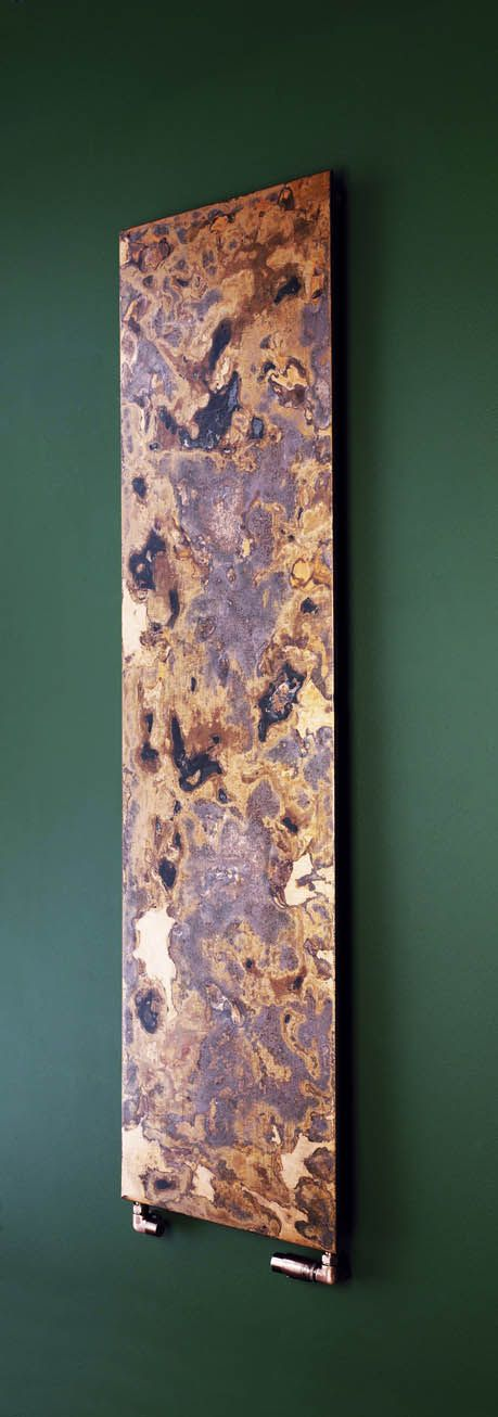 Arteplano Radiator In Etched Copper Finish Cool Art