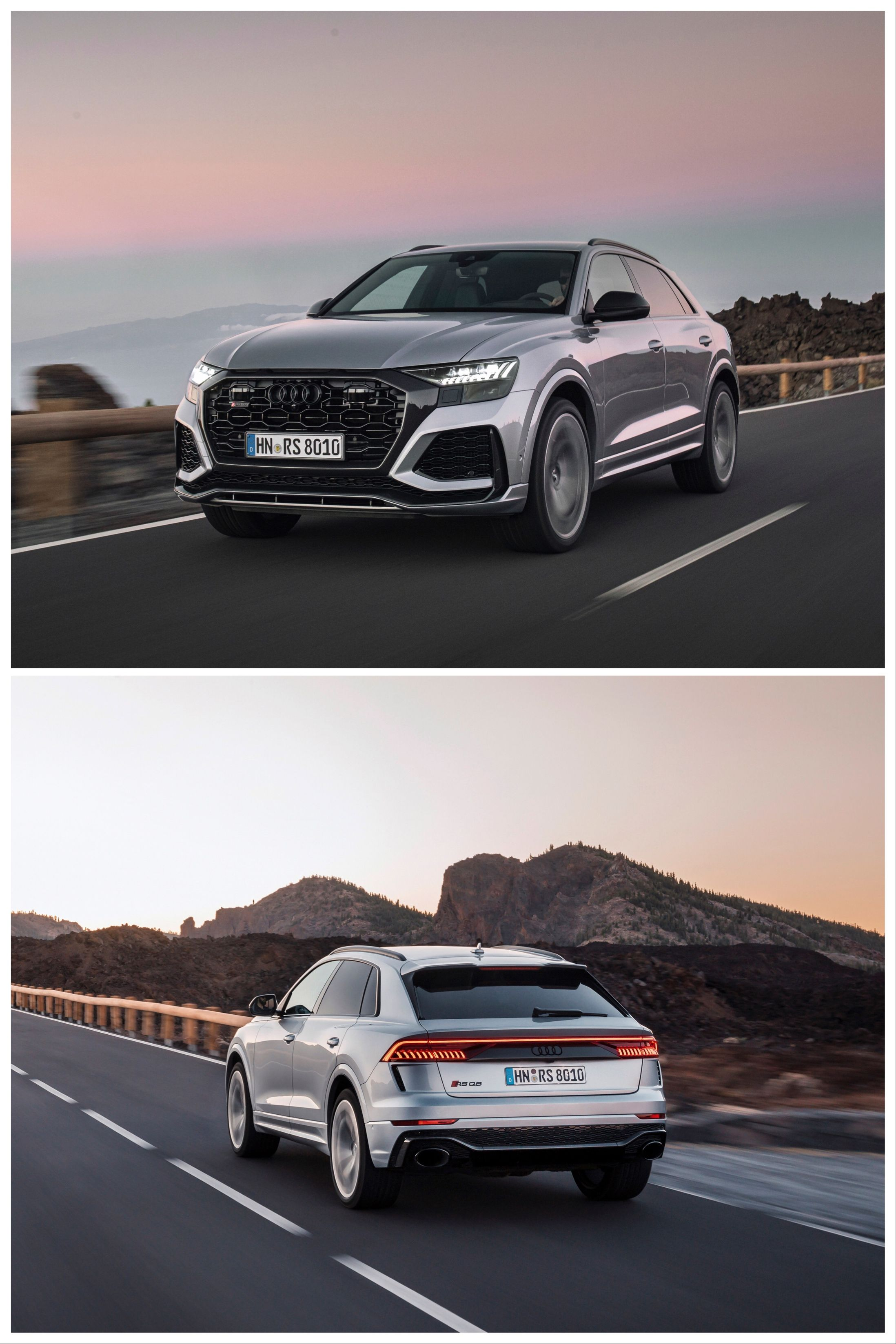 2020 Audi Rs Q8 First Drive Review The 591 Hp Super Suv Audi Rs Audi Wagon