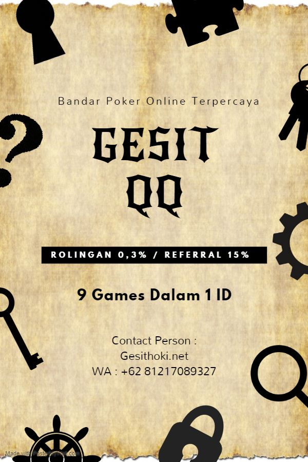 GESITQQ di 2020 | Kartu, Poker