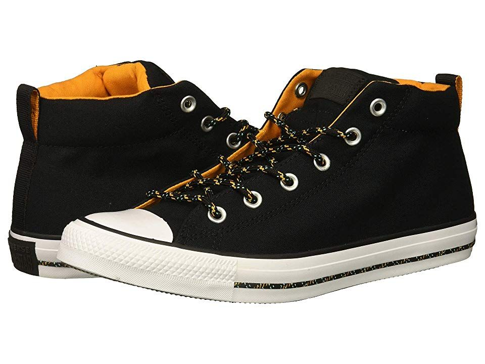 15aab35c22b0 Converse Chuck Taylor(r) All Star(r) Street Mid (Black Black White) Men s  Shoes. Good times are calling with the Converse Chuck Taylor All Star  Street Mid ...