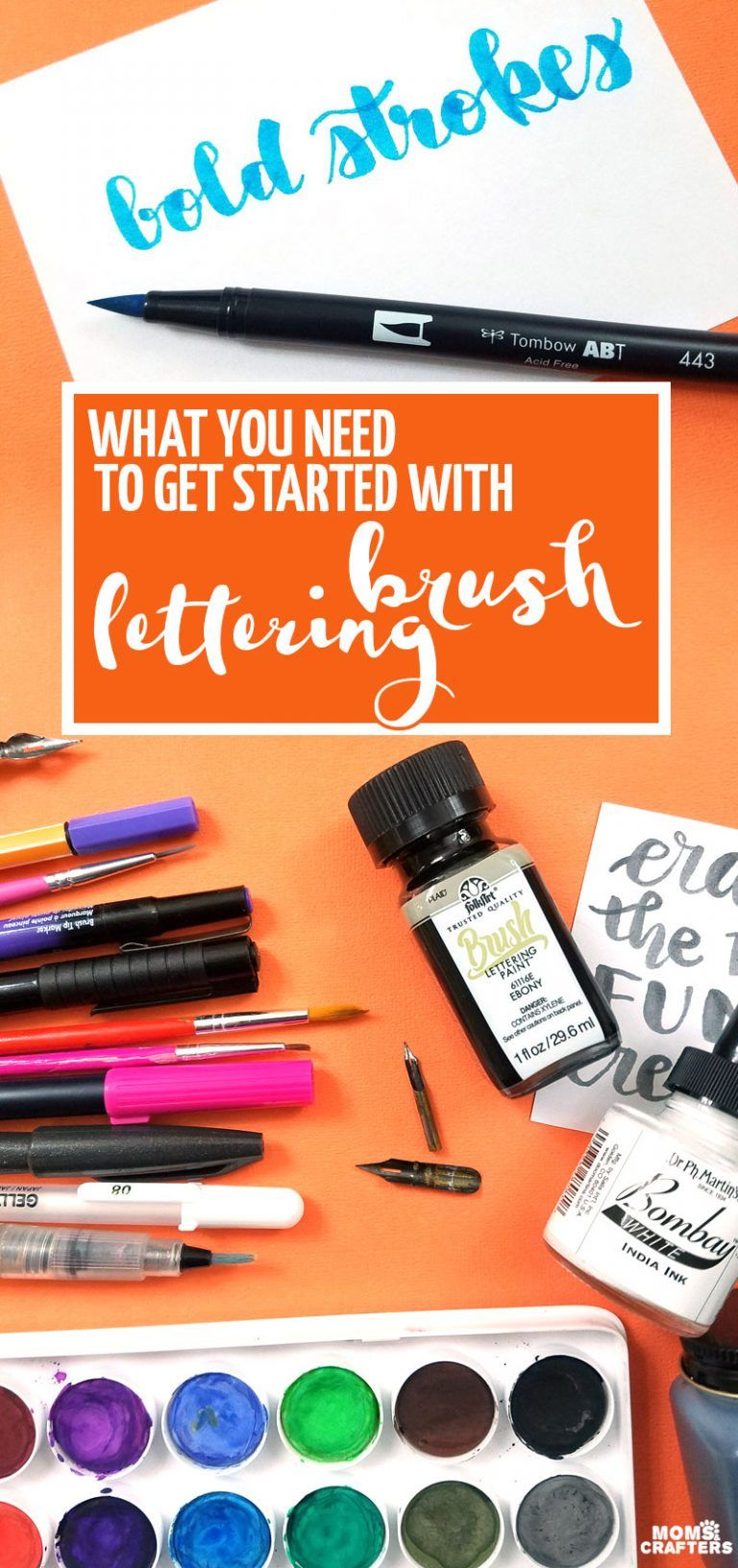 Get Started Learning How To Create Beautiful Brush Lettering Art