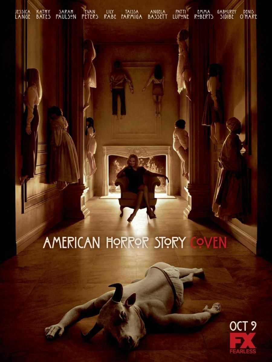 American Horror Story: Coven (Serie de TV)   Cartelera de Noticias
