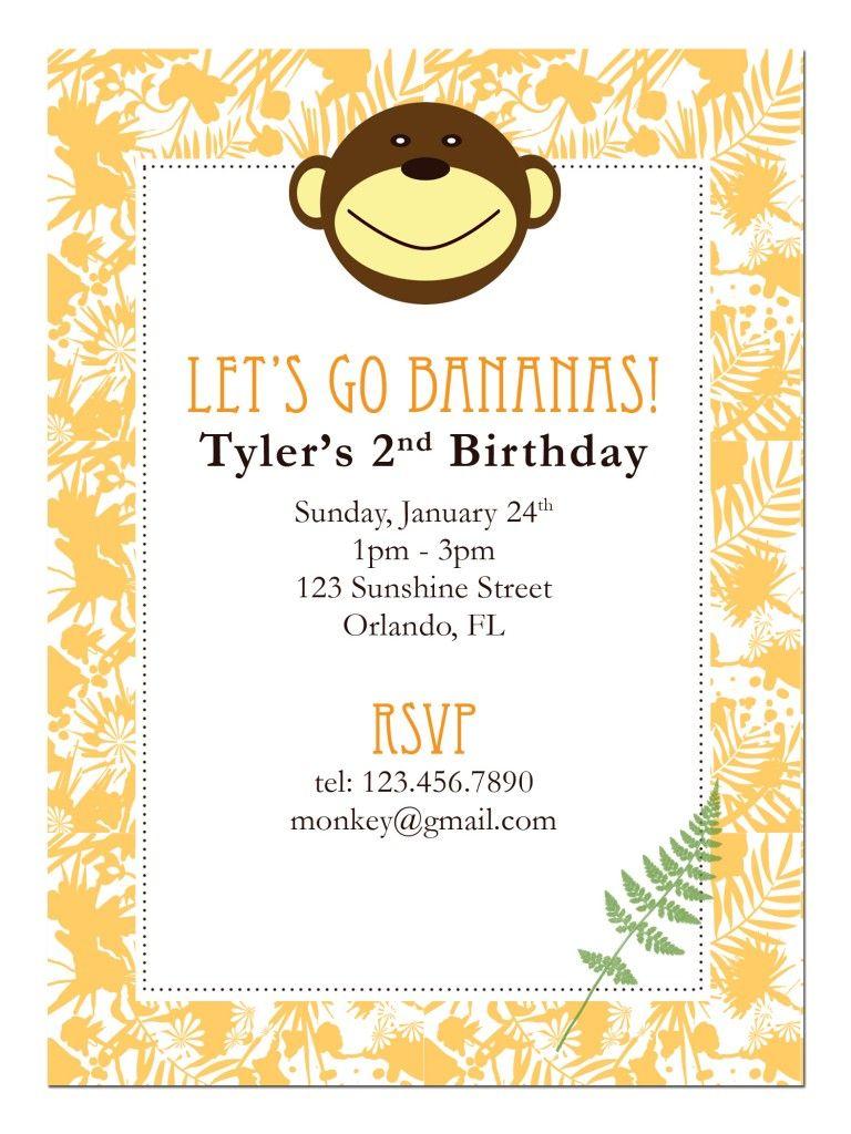Gmail birthday theme - Monkey Printable Birthday Theme