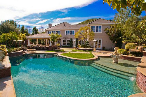 Huge Houses With A Pool pinmaddie law on dream home | pinterest | house pools, big