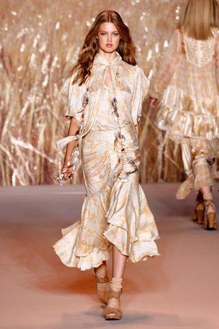 Vogue.com   Ready To Wear 2011 S/S Anna Sui