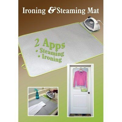 Portable Ironing And Steaming Mat 6170 By Redmon 14 99 Metallic